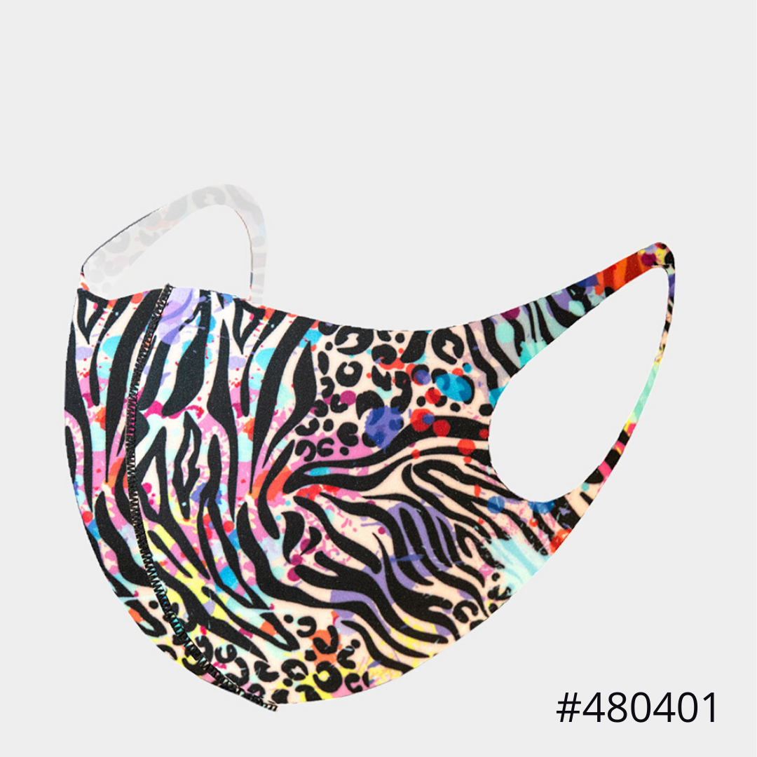 Multi Animal Print Face Covering #480401