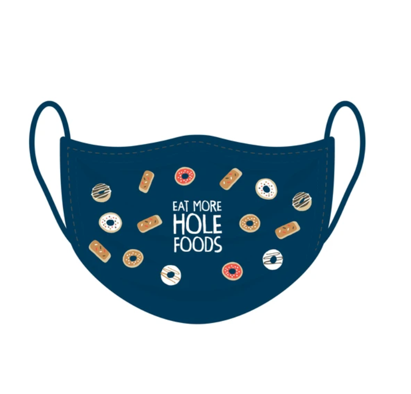 Hole Foods Face Covering