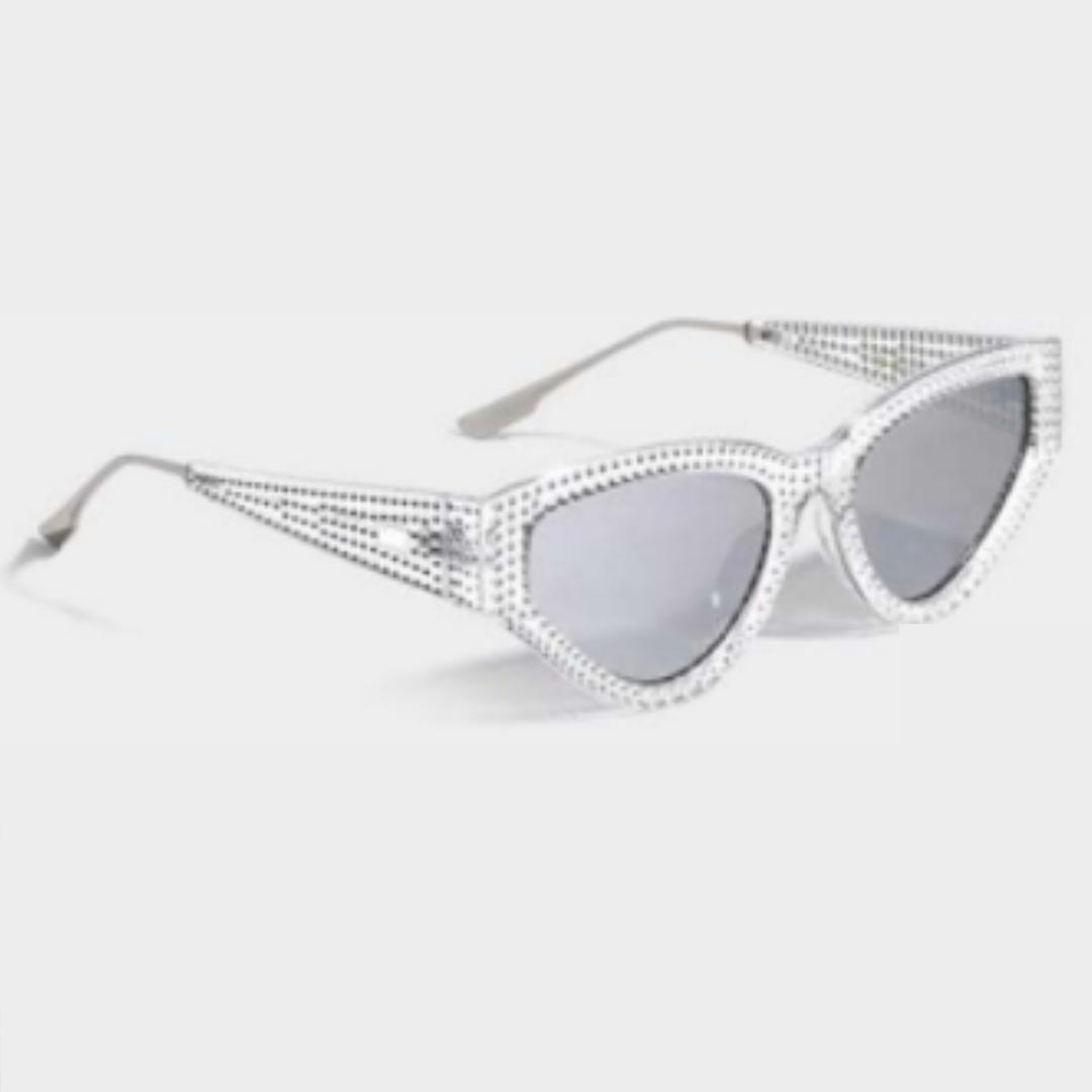 Clear Retro Sunglasses